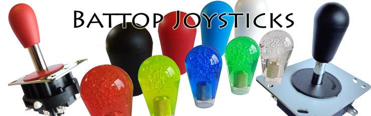 Arcade-Joysticks-Bat-Top