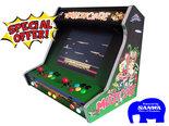 High-End-Wide-Body-Multicade-Green-Arcade-Bartop-Mancave-Special