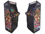 Ultimate-Custom-2-Player-Multicade-Black-Up-Right-Videogame-Arcade-Cabinet