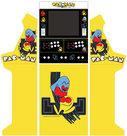 Wide-Body-Bartop-+-Onderstel-Vinyl-Stickerset-Pac-Man