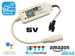Magic-Home-Pro-WS2812-en-WS2812B-Digitale-RGB-WiFi-Led-Strip-Controller-5V-voor-Google-Assistant-Amazon-Alexa-IFTTT