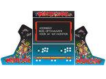 Arcade-Bartop-Vinyl-Stickerset-Multicade-Blue