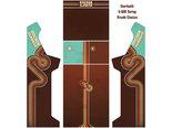 Arcade-Bartop-+-Onderstel-Vinyl-Stickerset-Arcade-Classics-Design