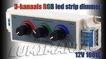 3-Kanaals-Manuele-RGB-Dimmer-Controller