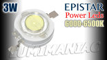 6.500K-Epistar-3W-700mA-High-Power-Led-Daglicht-Wit-280lm