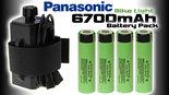 Bike-Light-Power-Box-Panasonic-Li-ion-18650-6700mAh-67A-Waterproof