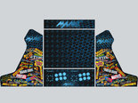 Mat-Gelamineerde-2-player-Arcade-Bartop-Artwork-Vinyl-Stickerset-In-Thema-Naar-Keuze