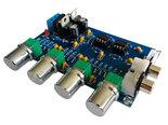 Hi-Fi-Stereo-Voorversterker-Toonregelaar-12~24V-AC-Hoog-Midden-Laag-Volume-Regelaar