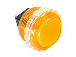 Seimitsu-PS-14-KN-30mm-Screw-In-Lichtdoorlatende-Drukknop-Oranje