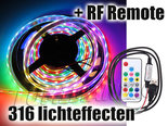 5M-Neopixel-RGB-WS2812B-Digitale-Led-Strip-+-Remote-Ultra-Bright-SMD5050-5V-IP65-300-Leds
