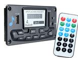 Stereo-12V-USB-SD-Bluetooth-Audio-Voorversterker-Inbouwmodule-met-LCD-display