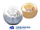 Sanwa-Gold-Zilver-Verchroomde-Joystick-Balltop-LB-35