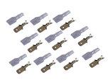 63mm-Male-Kabelschoen-Connector-10-25-50-100-Stuks-met-Siliconen-Beschermhuls