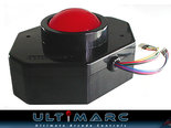 Ultimarc-U-Trak-Fire-Ball-Red-Arcade-Trackball-Inclusief-USB-Interface