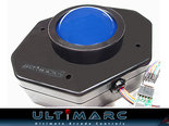 Ultimarc-U-Trak-Blue-Translucent-Arcade-Trackball-Inclusief-USB-Interface