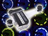 RGB-14-leds-Spoke-Light-Spaakverlichting-met-2-zijdige-Projectie-en-30-Patronen