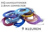 1M-Enkelvoudig-Aansluitdraad-met-28mm-Connector-en-Keuze-uit-9-Kleuren