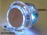 QANBA-30MM-Crystal-Clear-Snap-in-Drukknop-met-Witte-Led