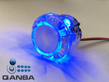 QANBA-24MM-Crystal-Clear-Snap-in-Drukknop-met-Blauwe-5V-Leds