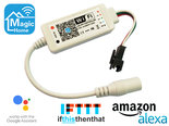 Magic-Home-Digitale-RGB-WiFi-Led-Strip-Controller-12V-24V-Ondersteunt-Google-Assistant-Amazon-Alexa-en-IFTTT