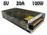 5V-DC-Geschakelde-Inbouw-Voeding-20A-100W-CV-110-240V