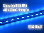 50cm-Rigid-Aluminium-Led-Strip-12V-Blauw-SMD5730-440-460nm-36-Leds-075A