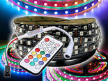 5m-12V-Premium-WS2811-IP20-Digitale-RGB-led-Strip-300-leds-+-Controller