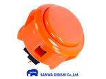 Sanwa-Denshi-OBSF-30-Snap-In-Arcade-Drukknop-Oranje