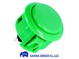Sanwa-Denshi-OBSF-30-Snap-In-Arcade-Drukknop-Groen