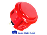 Sanwa-OBSF-30-Vermilion-Snap-In-Arcade-Drukknop
