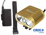 UniqueFire-Dual-Beam-CREE-XM-L-U2-Powerled-4000Lm-Bikelight-Gold