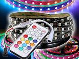 5m-12V-Premium-WS2811-IP20-Digitale-RGB-led-Strip-300-leds-+-Controller