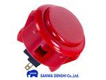 Sanwa-Denshi-OBSF-24-Snap-In-Arcade-Drukknop-Rood