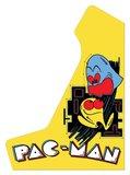 Wide Body Bartop Vinyl Stickerset 'Pac-Man' _53