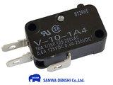Sanwa MS-O-3 Microswitch met 4.8mm Aansluitterminals NO/NC_52