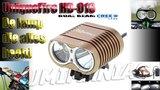 UniqueFire Dual Beam HD-016 CREE XM-L U2 4000 Lumen Bikelight Licht Bruin_20