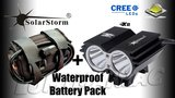 Solarstorm X2 MTB ATB 4000lm High Power CREE LED Koplamp Zwart_21