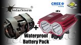 Solarstorm X2 MTB ATB 4000lm High Power CREE LED Koplamp Rood_21