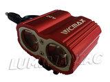 Vicmax A-22 2017  MTB CREE XM-T6 2200 Lumen Koplamp Rood_20