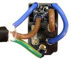 Gezekerde 6A IEC320 Power Switch met Verlichte aan/uit Schakelaar DPST_53