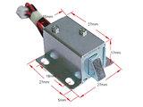Mini 12V Elektro Magnetisch Klep-/Deursluiting voor Arcadekast etc._52