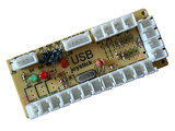 DragonRise 1-Player PC Raspberry Pi Zero Delay Arcade Interface Board voor 5-pin Sanwa Joystick + 2,8mm Buttons_20