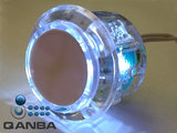 QANBA 30MM Crystal Clear Snap-in Drukknop met Witte Led_20