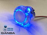 QANBA 24MM Crystal Clear Snap-in Drukknop met Blauwe 5V Leds_20