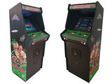Ultimate 2-Player Multicade Arcade Kast / Up-Right Cabinet 'Sunburst Green' _20