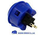 Sanwa OBSF-30 Donker Blauw Snap-In Arcade Drukknop_21