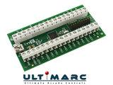 Ultimarc IPAC 2 USB Keyboard Encoder Interfase Board Inclusief Bedrading Set met 2,8mm en 4,8mm Connectors  _53