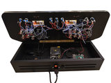 2-Player Premium Arcade 'MAME Lightning Strike Blue' Game Console Box met 10.000+ Games! _21