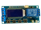 5V USB (3-24V/DC) 1 sec ~ 9999 min LCD Display Tijdrelais 250V/AC 30V/DC 10A _21