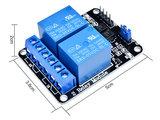 2 kanaals 5V Relais Module Board Optocoupler Relay voor o.a. Arduino, Raspberry Pi, pcDuino_21
